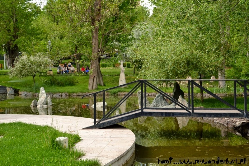 Visit Yerevan: one of the parks