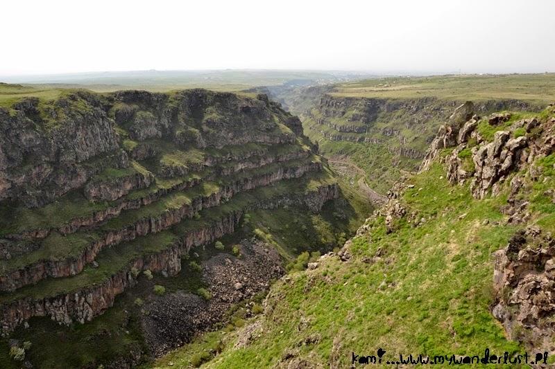 Aragatsotn, Armenia: Kasagh river gorge