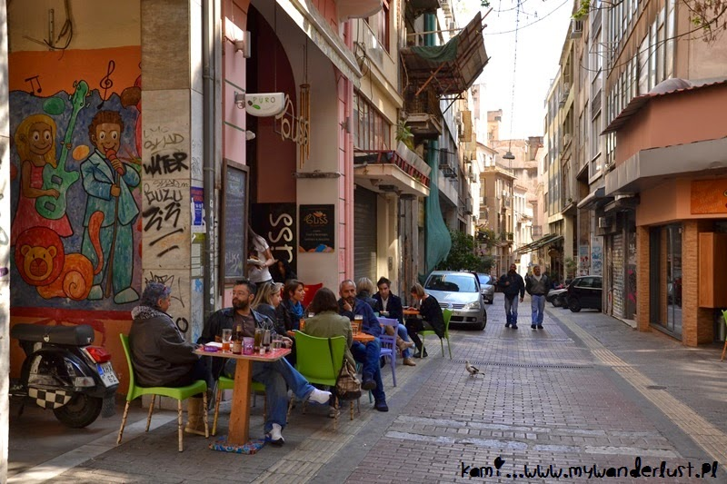 street life in Athens