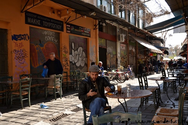 cafe culture in Athens