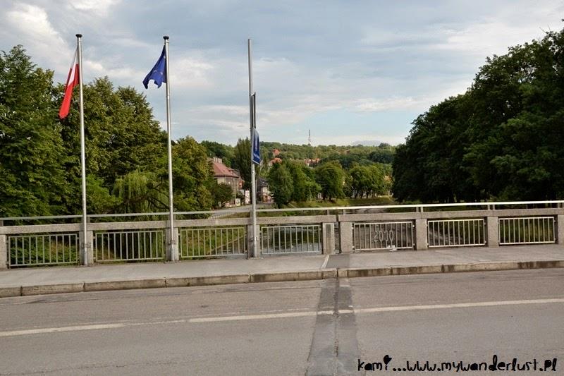 border in Cieszyn