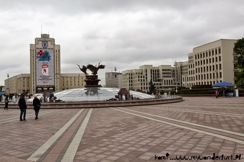 minsk-independence-square