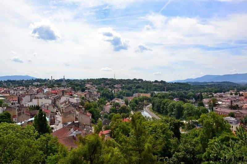 Cieszyn from above