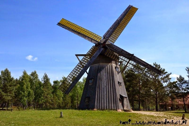 Wdzydze windmill