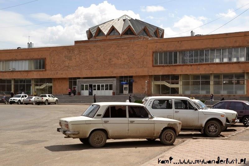 Gyumri, Armenia train station
