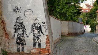 Where to look for street art in Prague