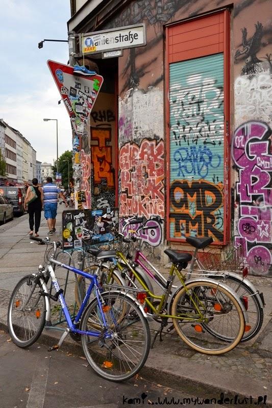 bikes in Berlin