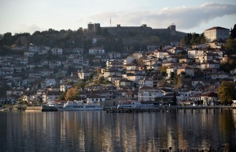 Beautiful Ohrid, Macedonia off season