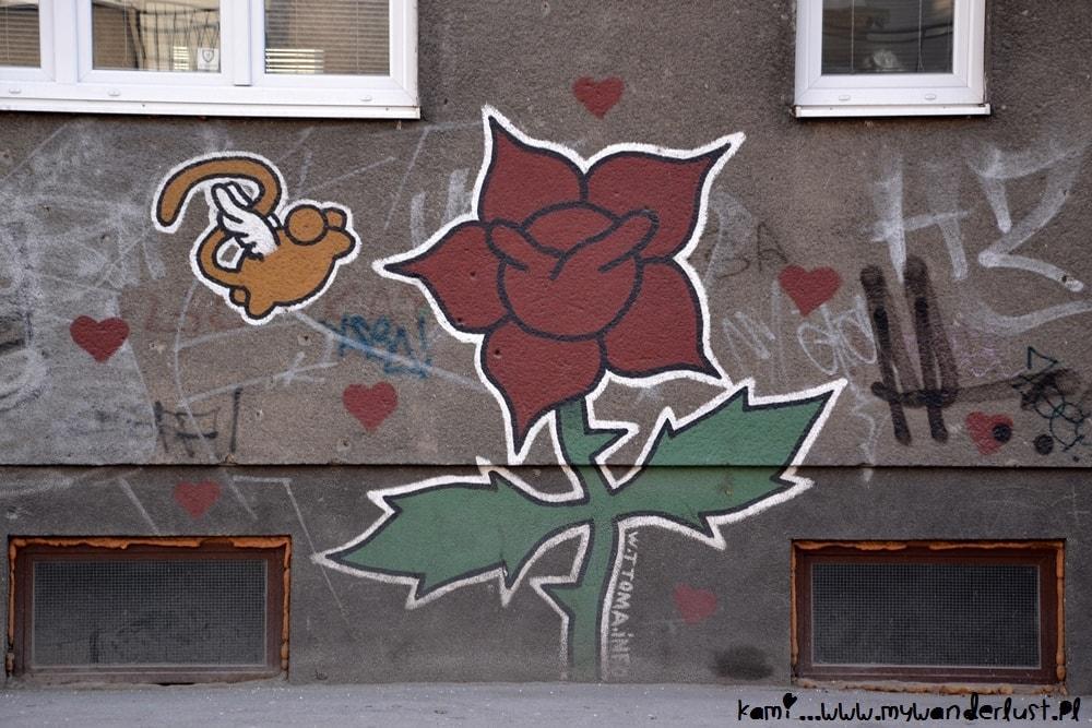 sarajevo roses street art