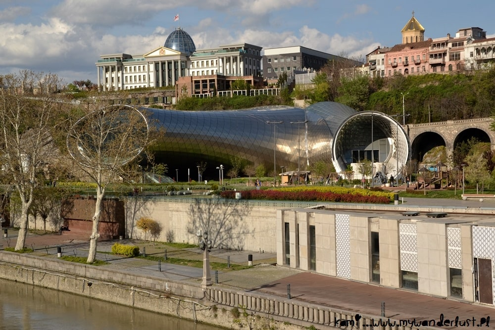 modern Tbilisi