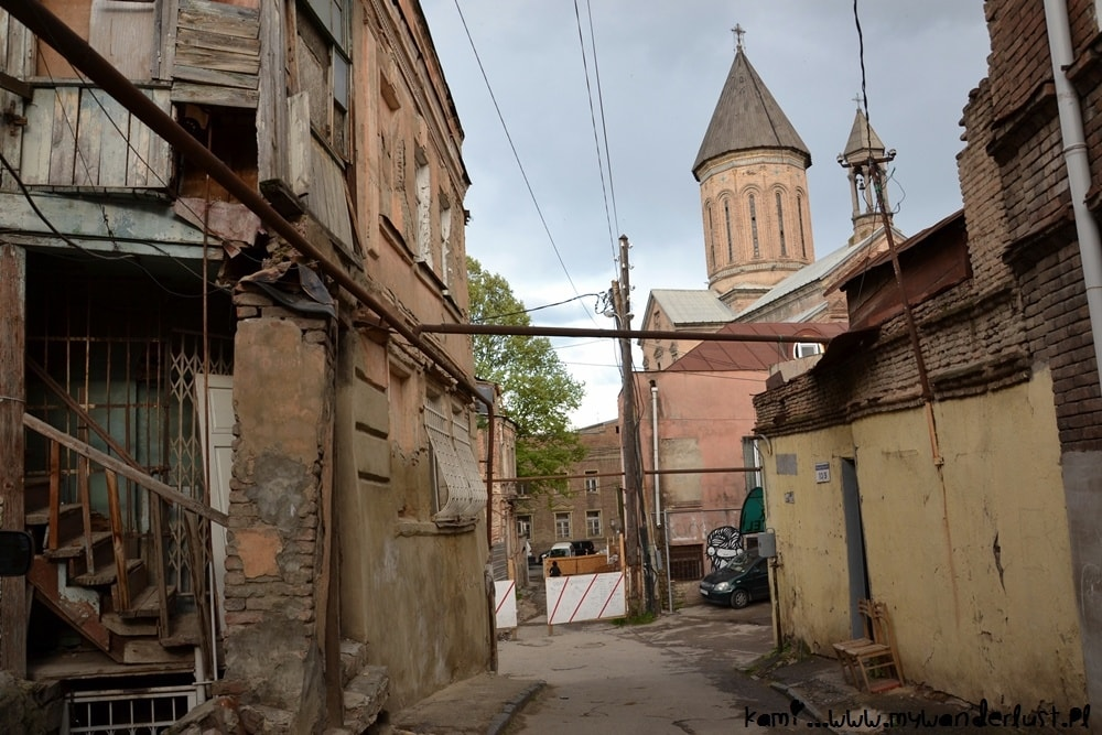 street in Old Tbilisi