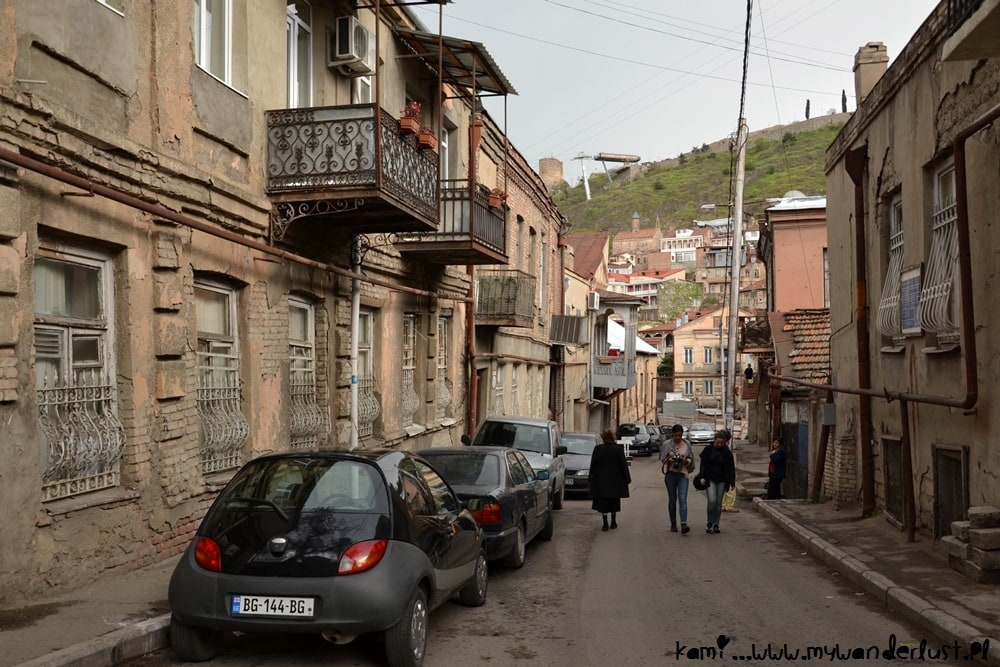 one of the streets in Old Tbilisi