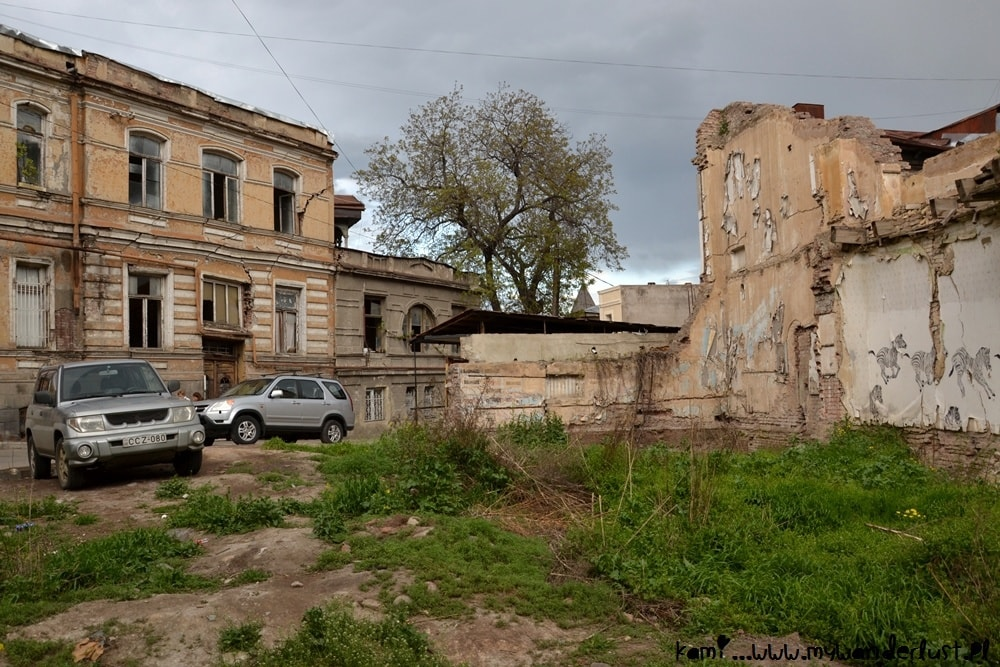 ruins of Old Tbilisi