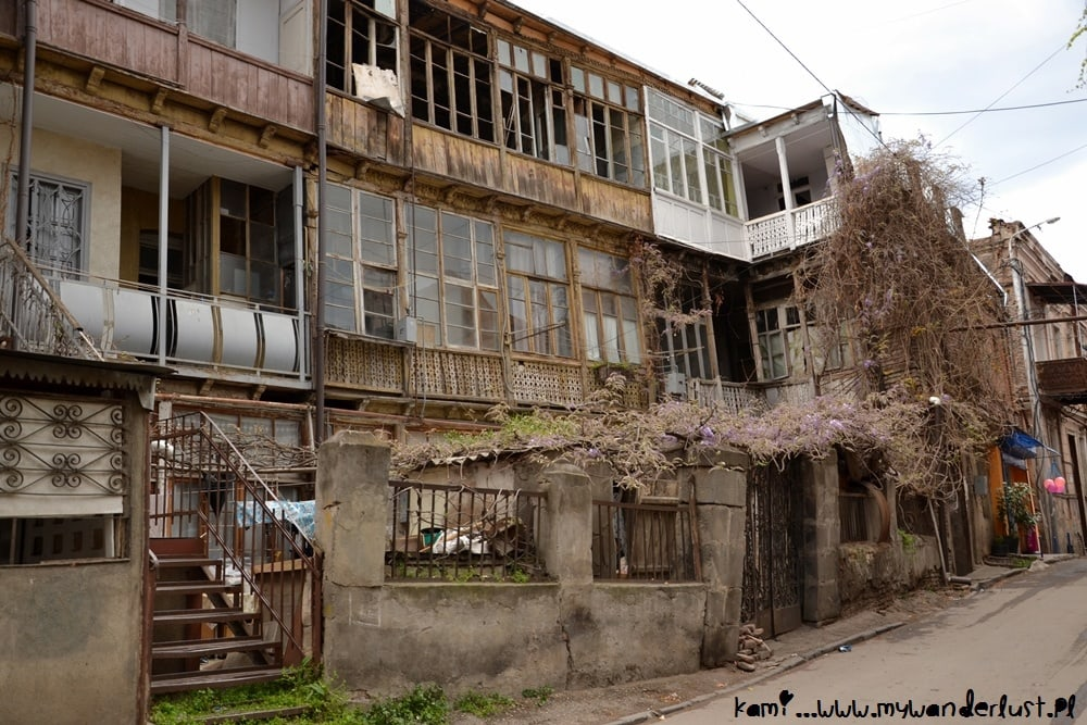 one of the houses in Old Tbilisi