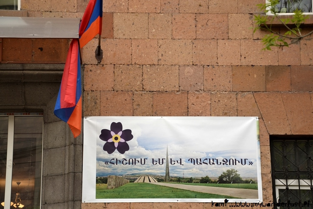symbol of centennial of the armenian genocide