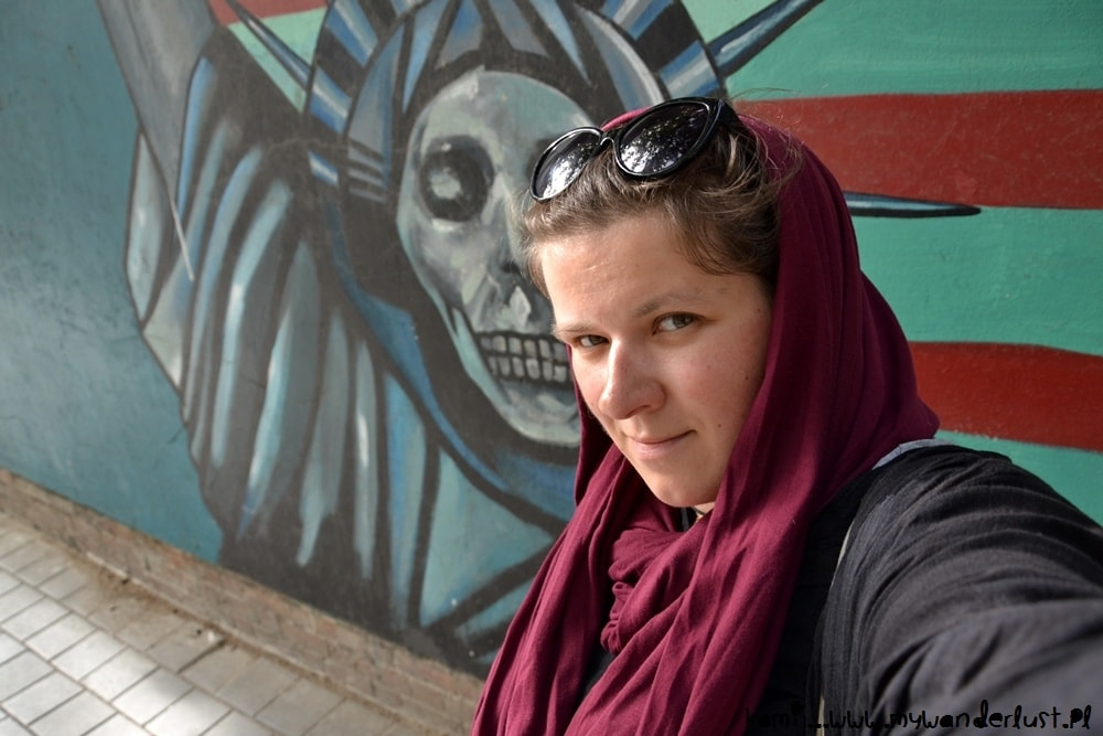 solo female travel in iran