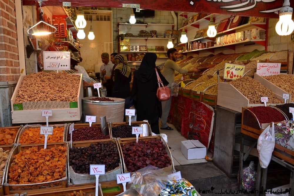 things to do in Tehran - Bazaar