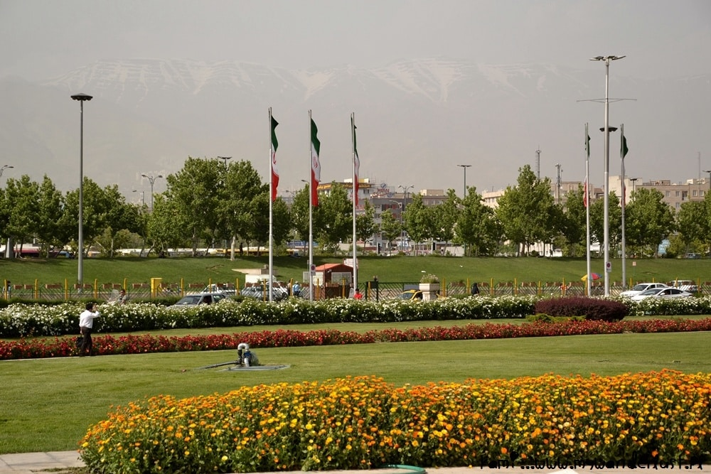 Tehran mountains