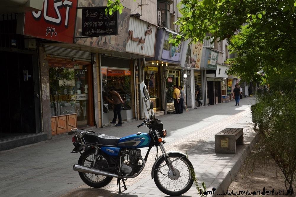 Tehran street