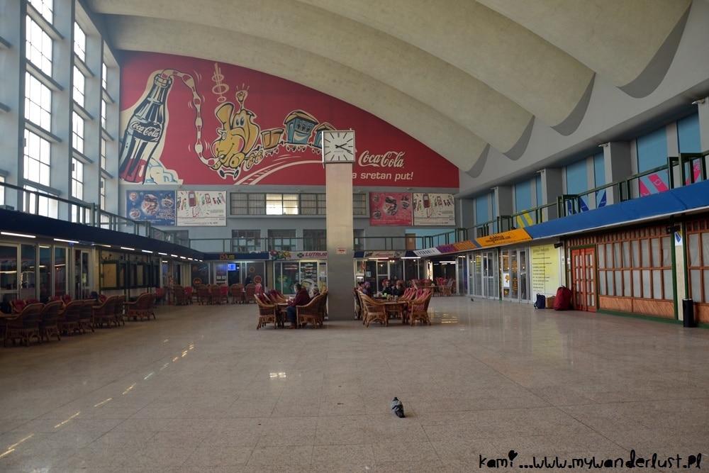 Sarajevo train station