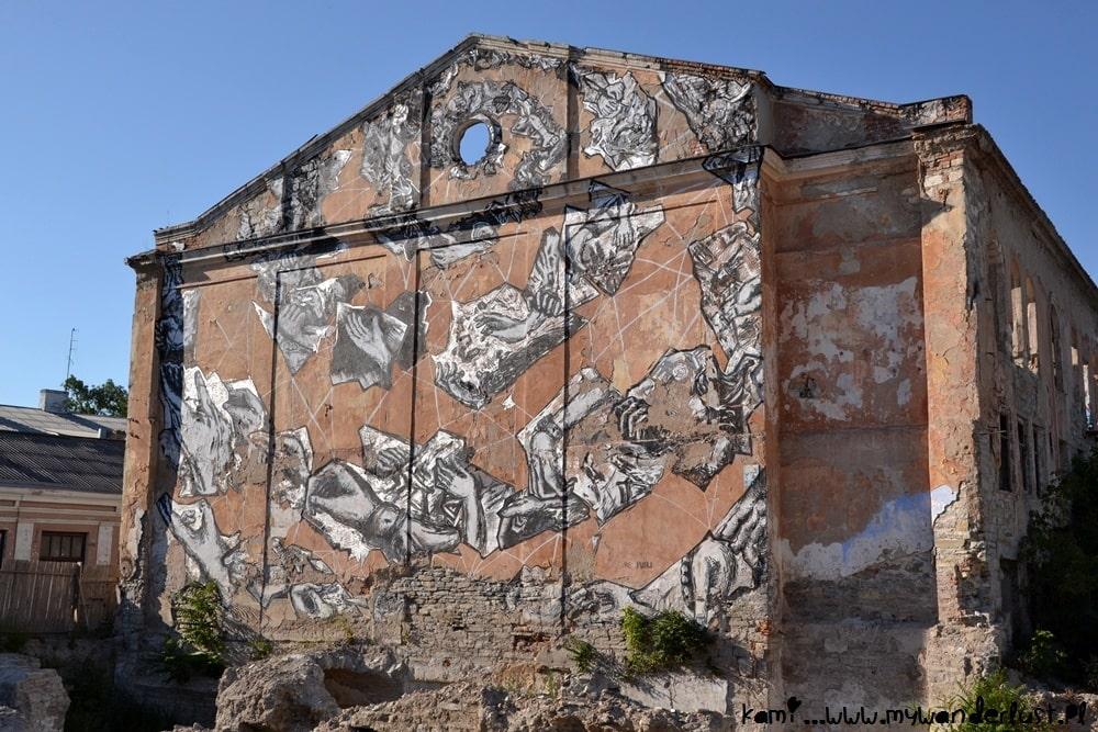 Kamianets Podilskyi street art