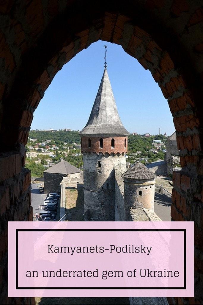 Kamyanets-Podilsky pin
