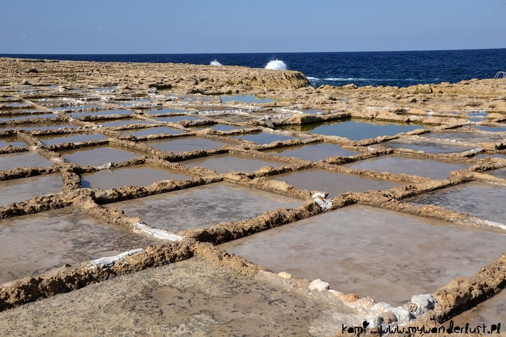 5 days in Malta - itinerary, Gozo salt pans
