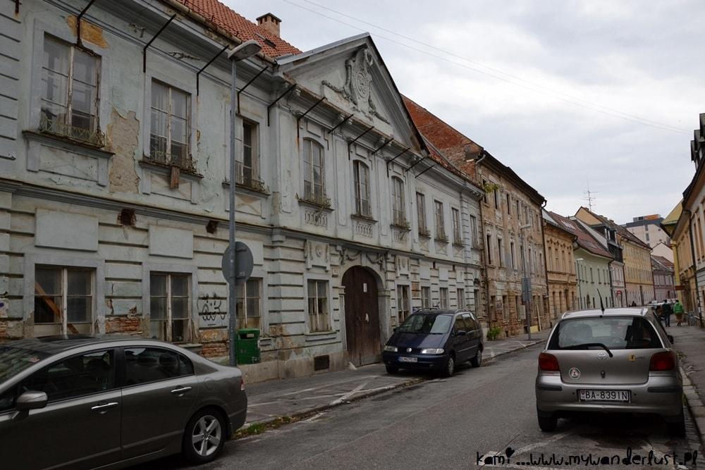 random Bratislava street view