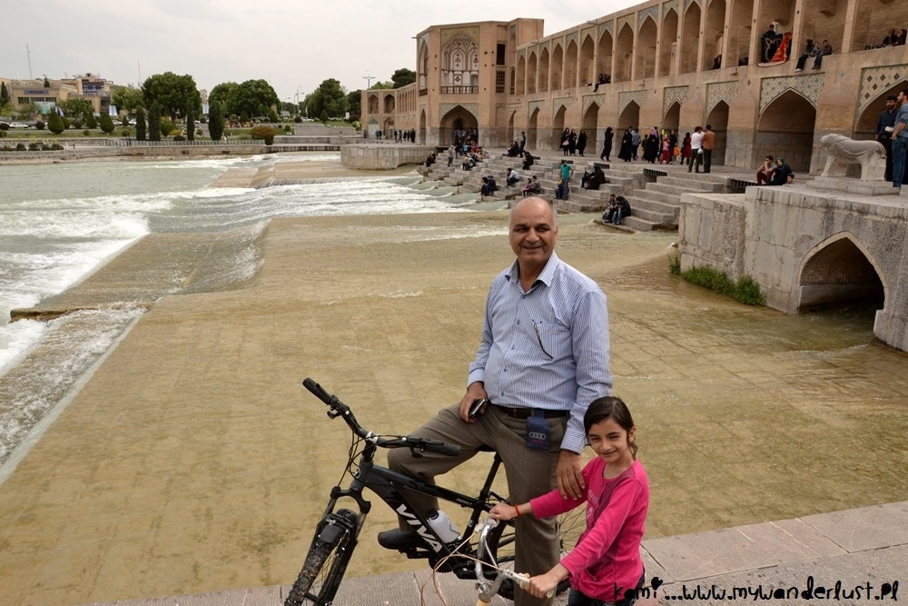 people of Isfahan, Iran