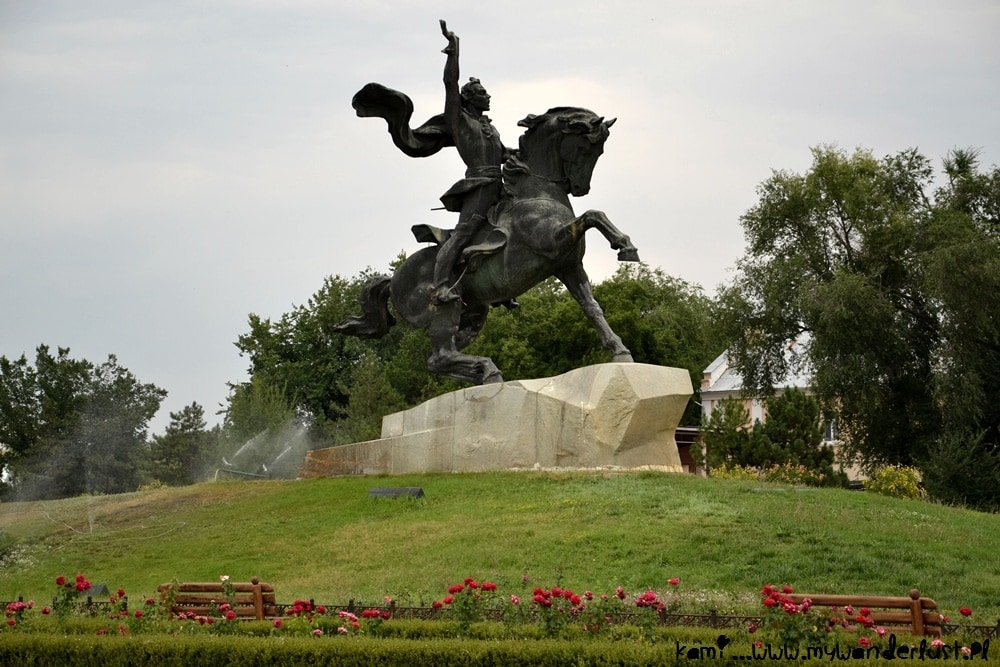 Monument of General Alexander Suvorov