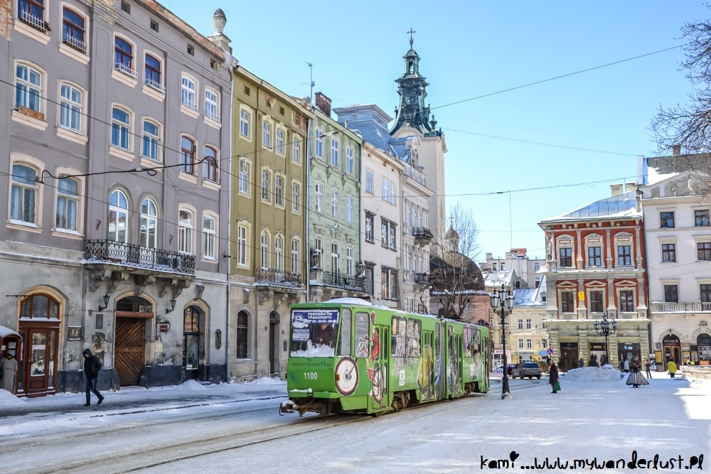 best places to visit in Ukraine: Lviv