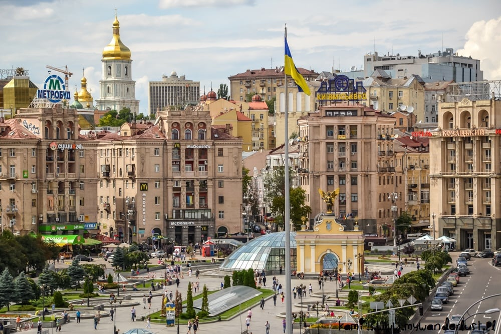 best places to visit in Ukraine: Kyiv