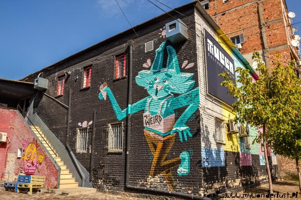 Tirana street art
