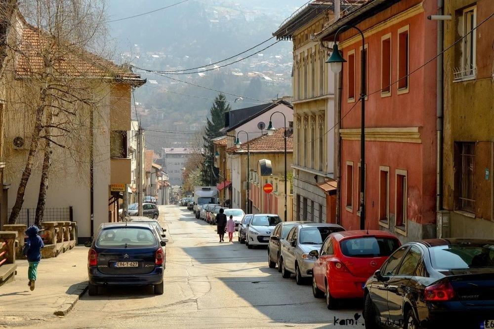 Logavina street in Sarajevo