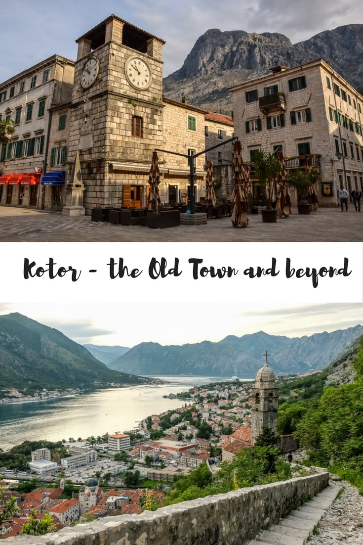 Kotor, Montenegro - the Old Town and beyond