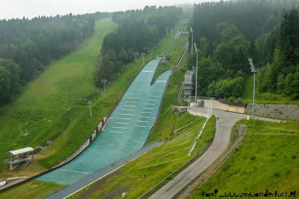 Liberec ski jumping hills