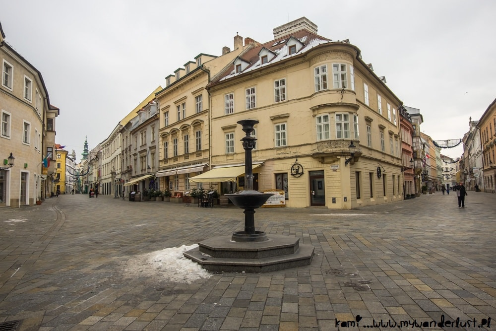 Bratislava attractions - Old Town
