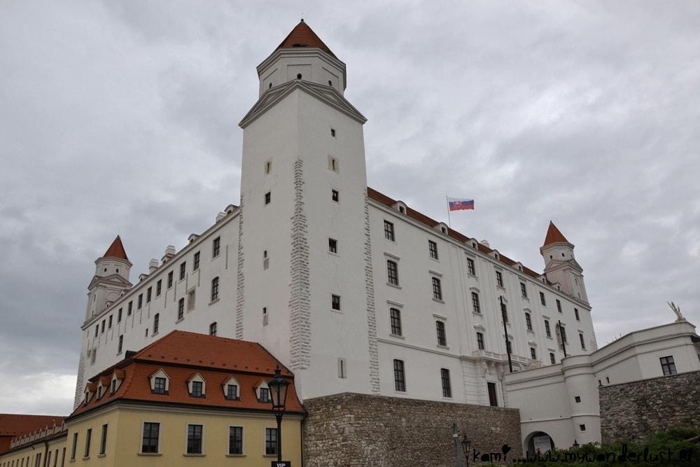 Bratislava attractions - Castle