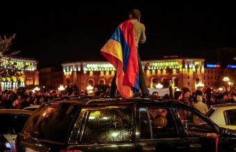 How I witnessed the revolution in Armenia