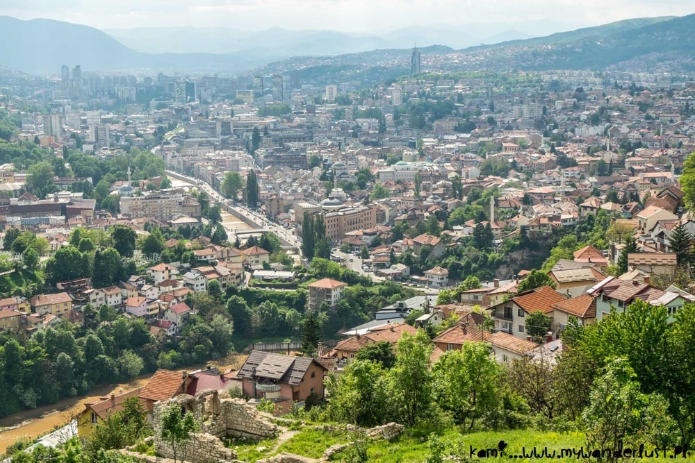 things to do in Sarajevo - White Bastion