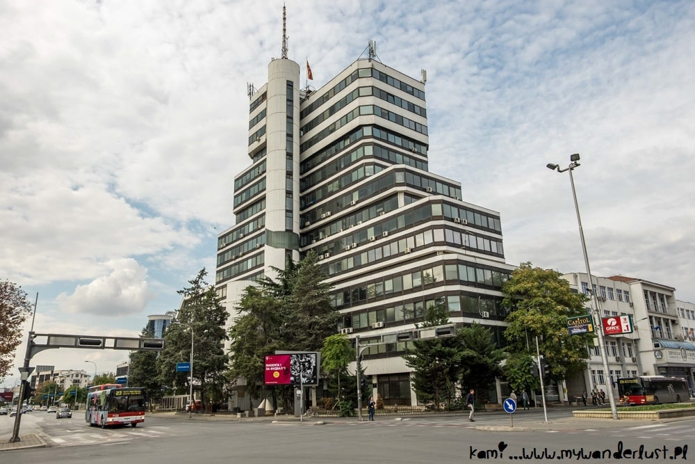 Skopje architecture