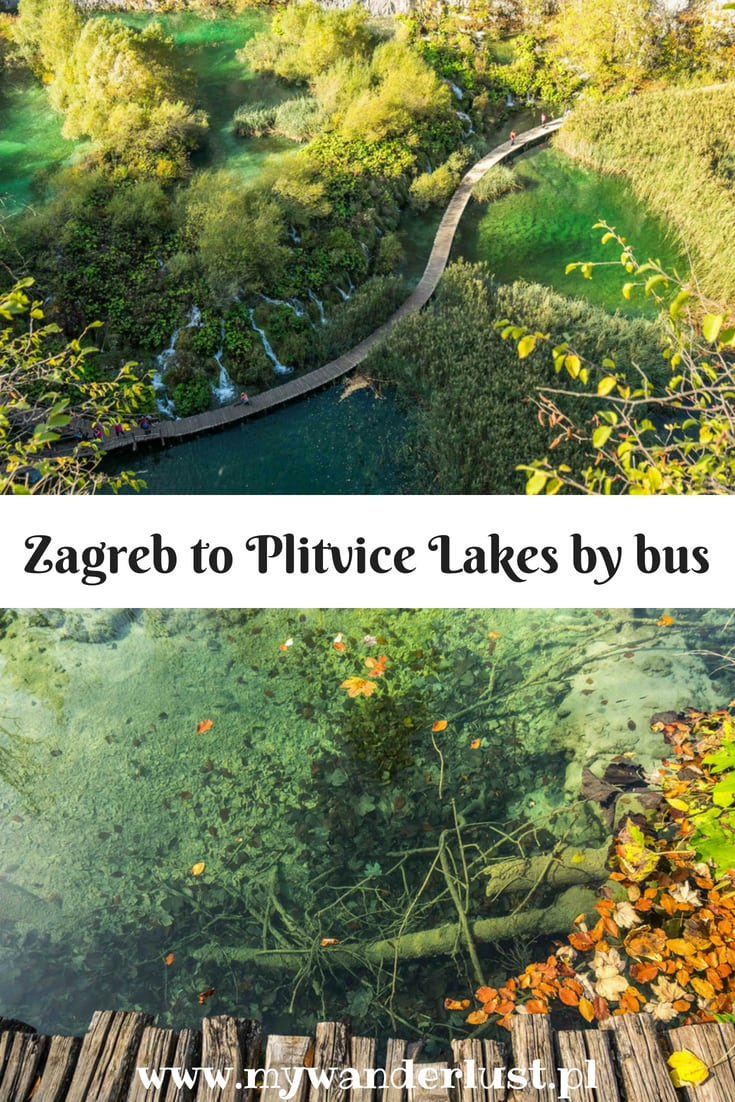 Visiting Pltvice Lakes by bus from Zagreb, Croatia