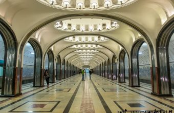 Moscow metro stations – the underground gallery