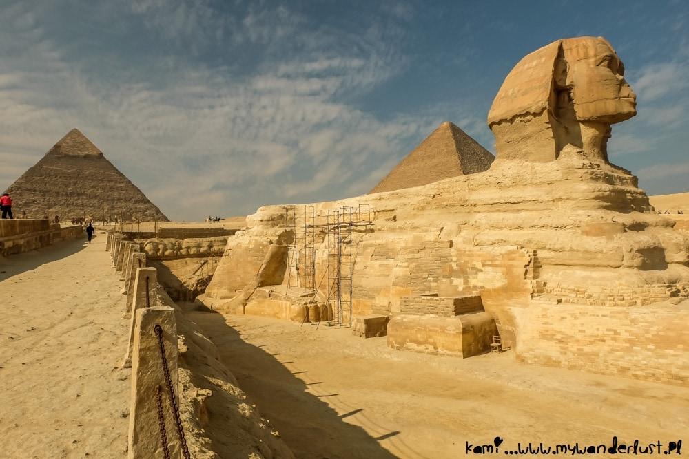 visiting Pyramids