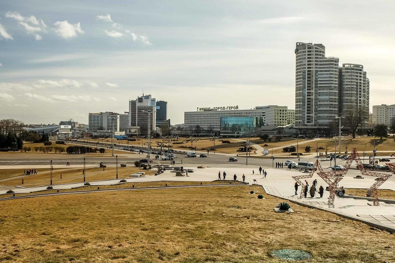 visiting Minsk, Belarus