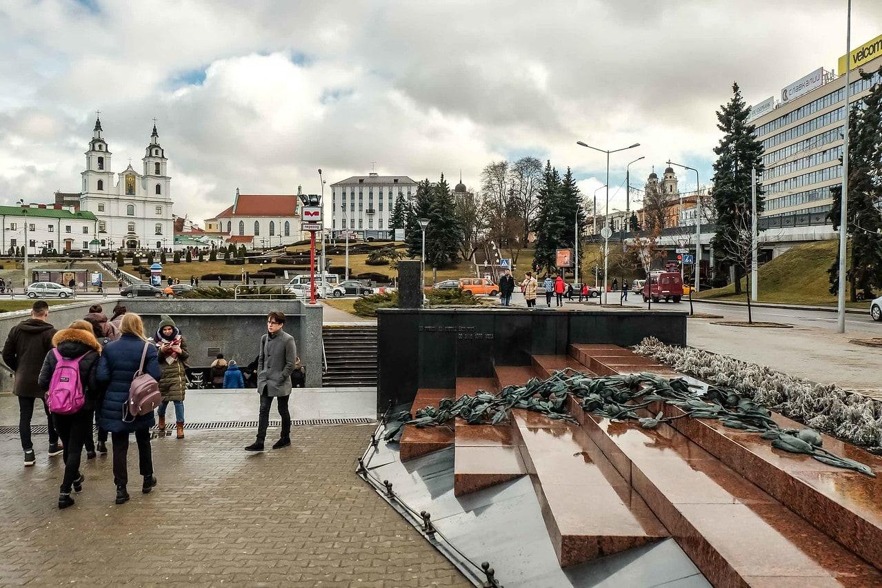Nyamiha stampede, Minsk