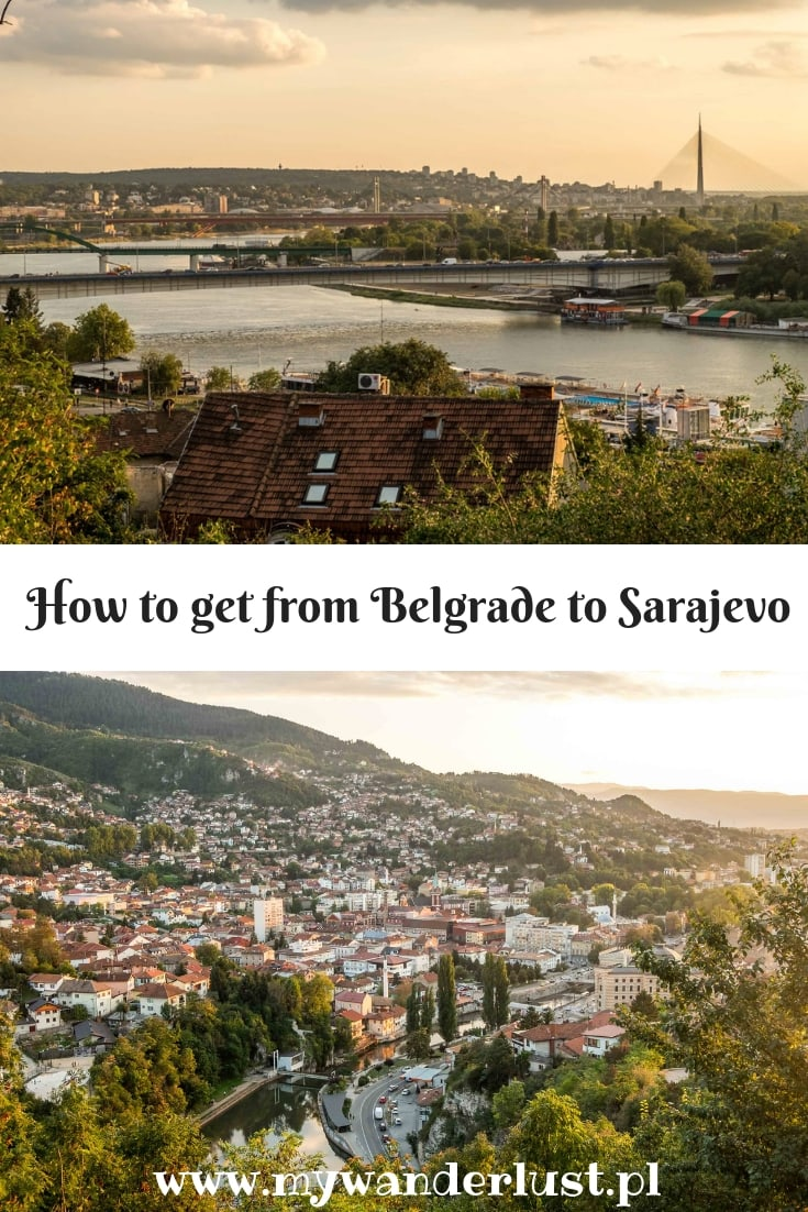 how to get from Belgrade to Sarajevo