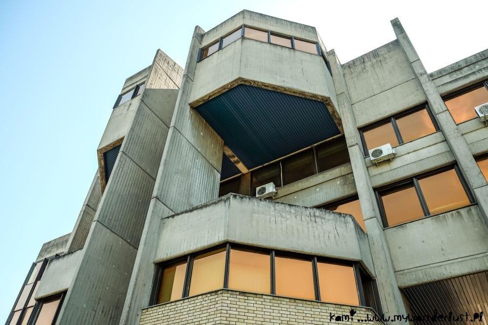 Belgrade brutalist architecture