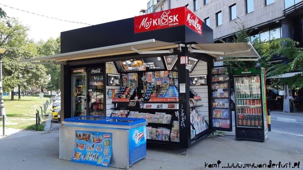 Belgrade kiosk