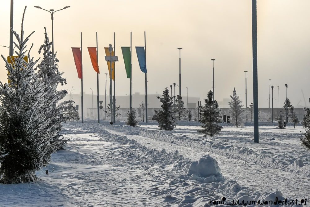Astana in winter